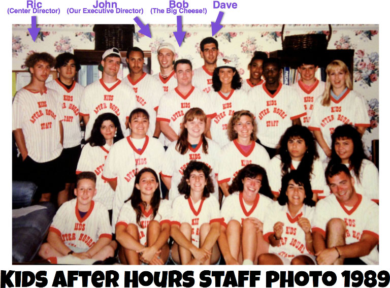 Kids After Hours Staff Photo 1989