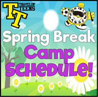 School Break Camp Schedule