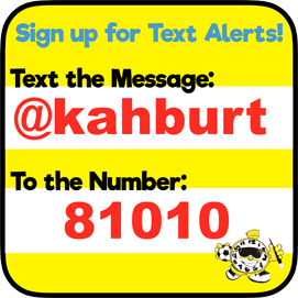 Sign up for Text Alerts