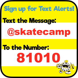 sign up for skate camp texts
